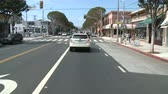 mounted : Time lapse of Driving in Santa Monica CA - Roof Mounted Camera