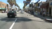 mounted : Time lapse of Driving in Venice CA - Roof Mounted Camera