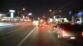 mounted : Los Angeles - Car Mounted Camera - Timelapse Stock Footage