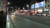 motion blur : Los Angeles City Traffic at Night - Timelapse -  - Timelapse