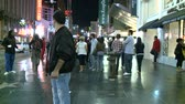 Голливуд : Hollywood Blvd People - Time Lapse