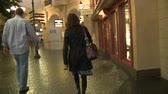 cassino : Las Vegas Casino WalkThrough Stock Footage