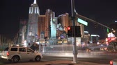 kasino : Las Vegas Night Traffic - Time lapse Dostupné videozáznamy