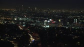 congestionamento : Los Angeles Traffic at Night