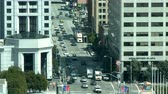 személy : San Francisco Downtown Traffic - Time Lapse