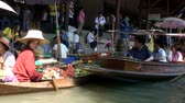 thai : Floating Market in Thailand