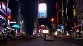 уличный свет : NYC Times Square Time Lapse