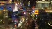 cassino : Las Vegas Strip Traffic From Above - Time Lapse
