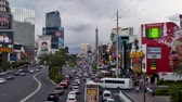 cassino : Zoom Las Vegas Strip - Time Lapse
