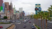 cassino : Las Vegas Strip - Time Lapse