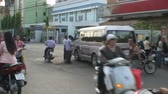 розничная торговля : Busy Street Traffic in Vietnam Asia