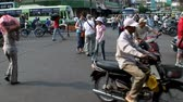 congestionamento : Busy Street Traffic in Vietnam Asia