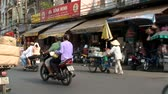 sklep : Busy Street Traffic in Vietnam Asia