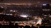 vadi : Overview of the San Fernando Valley at Night