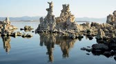 stěhovavý : Tufa Tower on Mono Lake