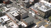 intersection : Street scene in San Francisco Stock Footage
