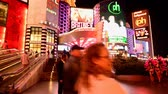 time : The Famous Las Vegas Strip Stock Footage
