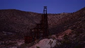 time : Time Lapse of Abandon Gold Mine at Sunset - 4K