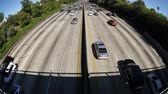 congestionamento : Time Lapse of Busy Freeway In Los Angeles - 4K - 4096x2304 Vídeos