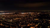 grade : Time Lapse Pan of San Francisco in the Evening - 4k Stock Footage