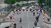 ponte : Time Lapse of Traffic in Busy District of HCMC - Ho Chi Minh City Saigon Vietnam Vídeos
