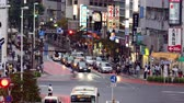 idegen : Time Lapse of Traffic and Pedestrians in the Busy Ginza Shopping District  -  Tokyo Japan