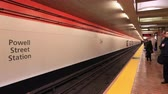 probówki : Time Lapse of San Francisco Subway - BART -   4K - 4096x2304 Wideo