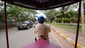 Scenic Drive with Tuk Tuk Taxi Driver in Siam Reap Angkor Wat