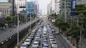 asiáticos : Time Lapse of Heavy Traffic in Downtown Bangkok Thailand Vídeos