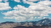 terremoto : Time Lapse of Scenic Desert Mountains and Clouds