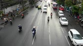 Time Lapse of Traffic in Downtown Bangkok After Rainstorm