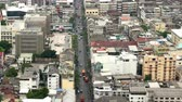 asiáticos : Time Lapse of Traffic from Above - Downtown Bangkok Thailand