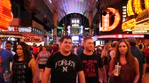 fremont : Busy Crowd on Fremont Street - Las Vegas
