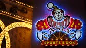 pecado : Clown Casino Sports Book Neon Sign - Las Vegas