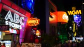 kasino : Zoom Out - Neon Advertising Signs on the Las Vegas Strip