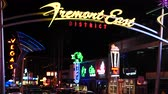 pecado : Zoom Out - Fremont Street East District at Night - Las Vegas