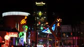 fremont : Fremont Street East District  Neon Signs at Night - Las Vegas
