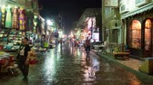 bugigangas : Time Lapse of Street Bazaar in Old City Cairo Egypt Stock Footage