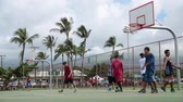 basket ball : Jeu de basket Hawaii Maui Novembre 2016