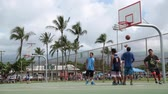 basket ball : Équipe de basketball Hawaii Maui, novembre 2016