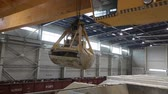 tons : Industrial crane, gantry crane, rail crane moves raw materials in the enterprise, general plan.