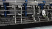 thread warping : Textile factory, textile industry, warping machine, cotton thread, cloth Manufacturing, sewing machines, textile machinery, equipment, weaving, loom? modern factory