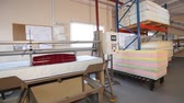 cep : Stress test of the mattress, strength test of the mattress in the laboratory, strength, modern factory, indoors