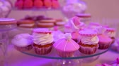 acıbadem kurabiyesi : Dessert table for party, Beautiful cupcakes, reception