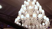 mounted : A hotel chandelier