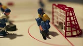 goleiro : goal attack ice hockey match, table game, macro shot