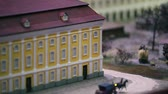 posta : Postal horse-drawn carriage rides by road, miniature model