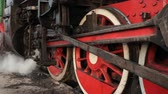 lokomotif : red steam wheels