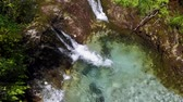 naturalistic : The waterfalls, the stream and clear water of Val Vertova, a naturalistic oasis in the province of Bergamo, Italy