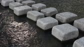 00:08 | 00:11 1×  Cube shaped stone use as river bridge